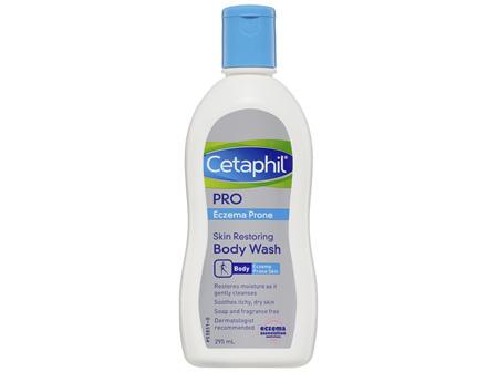 Cetaphil Pro Eczema Prone Skin Restoring Body Wash 295mL