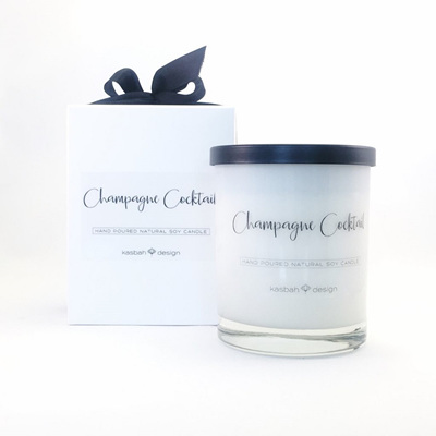 Champagne Cocktail - Soy Candle/Large