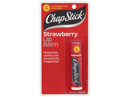 ChapStick Strawberry Lip Balm SPF15  4.2g