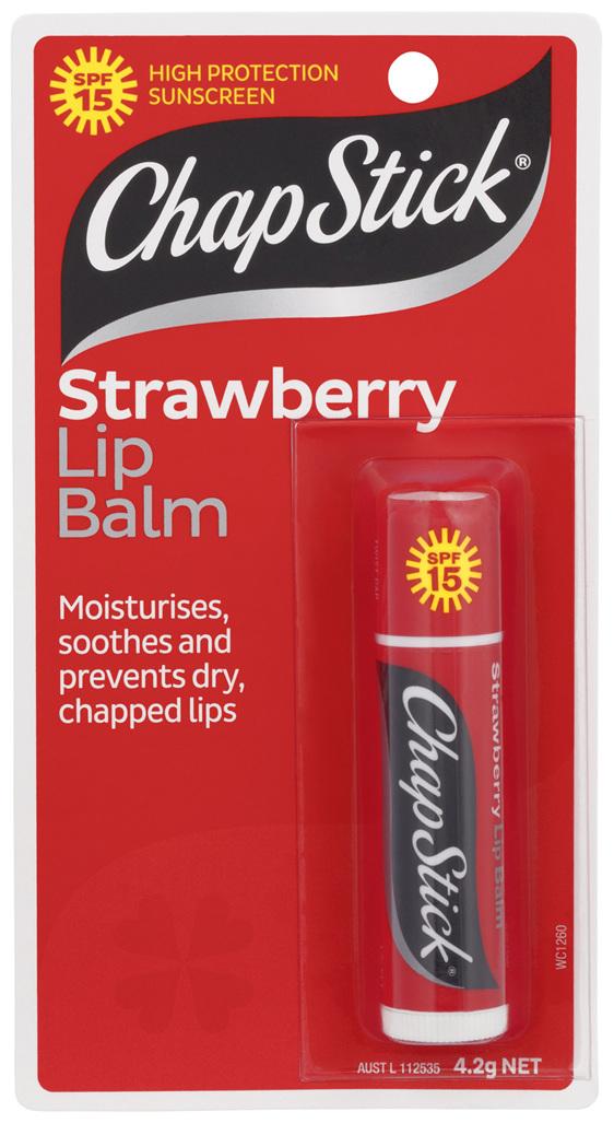 ChapStick Strawberry Lip Balm SPF15  4.2g