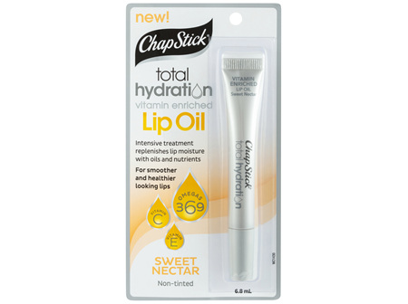 ChapStick Total Hydration Lip Oil Sweet Nectar 6.8mL