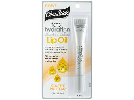 ChapStick Total Hydration Lip Oil Sweet Nectar 6.8mL