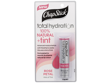 ChapStick Total Hydration + Tint Rose Petal 3.5g