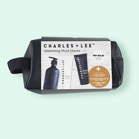Charles + Lee Grooming Must Haves Pack