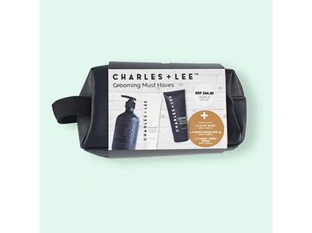 Charles + Lee Grooming Must Haves Pack