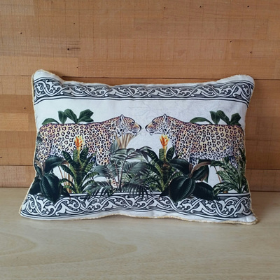 Cheetah Duo Cushion - 30 x 40cmh