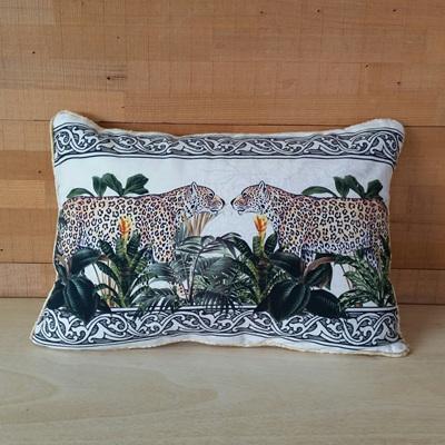 Cheetah Duo Cushion - 30 x 40cmh
