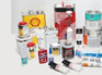 Chemicals, Paint & Oils
