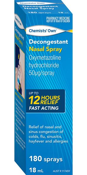 Chemists' Own Decongestant Nasal Spray