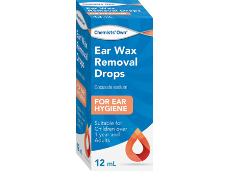 Chemists' Own Ear Wax Removal Drops 12ml