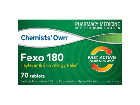 Chemists' Own Fexo Tab 180mg 70