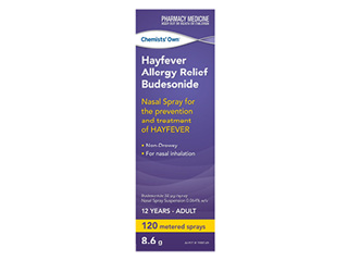 Chemists' Own Hayfever & Allergy Budesonide 120