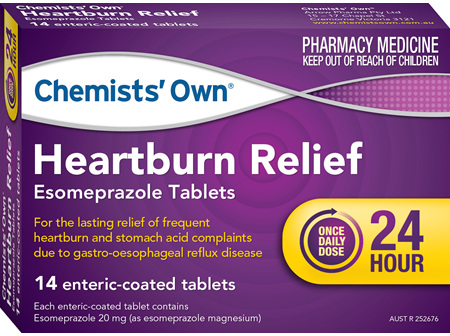 Chemists' Own Heartburn Relief Esom Tab 20mg 14