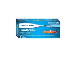 Chemists' Own Loratadine Tab 10mg 10
