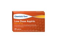 Chemists' Own Lowdose Aspirin Tab 100mg 168