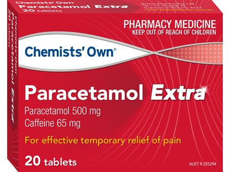Chemists' Own Paracetamol Extra Tab 20