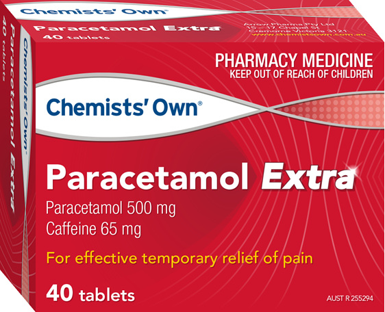Chemists' Own Paracetamol Extra Tab 40