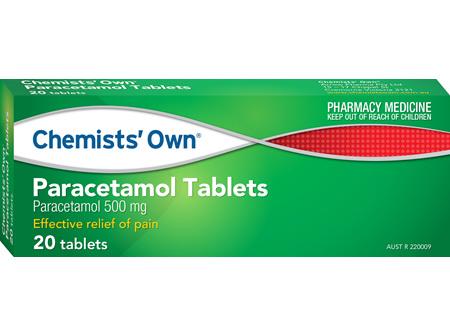Chemists' Own Paracetamol Tablets 20