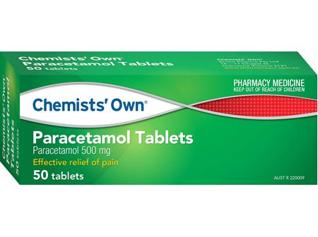 Chemists' Own Paracetamol Tablets  50