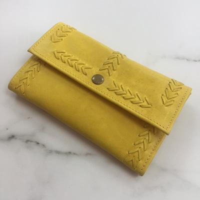 Cherokee Simple Wallet - Yellow