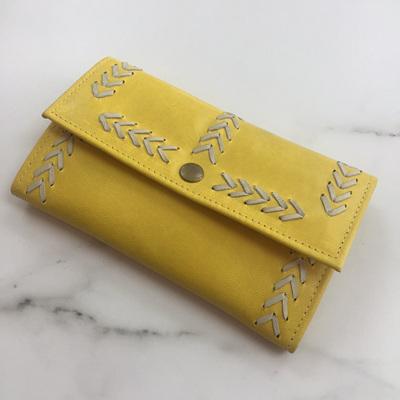 Cherokee Simple Wallet - Yellow/Cream