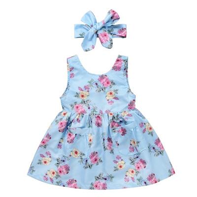 Cherry Blossom Party Dress & Headband