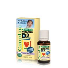 CHILDLIFE ORGANIC VIT D3 - BABIES 10ML