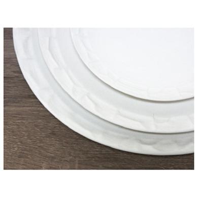 Chiseled Platter - Matt White