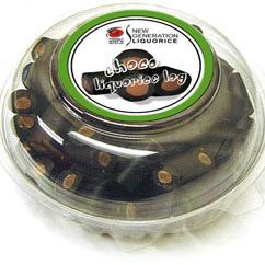 Choco-Liquorice Logs