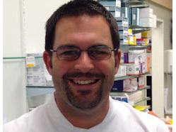 Chris Wilkinson (Co-owner, Pharmacist)