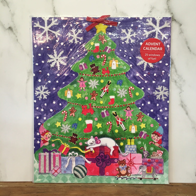 Christmas Tree Advent Calender