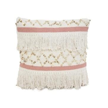 Circe Cushion - Blush & Natural 55x55cm