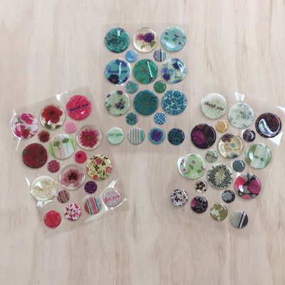 Circle Flower Collection Stickers WAS $4.90