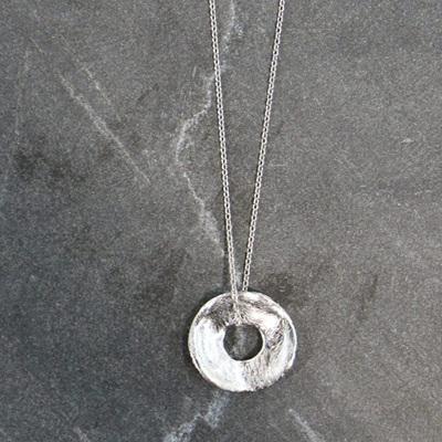 Circle Pendant - 925 Silver