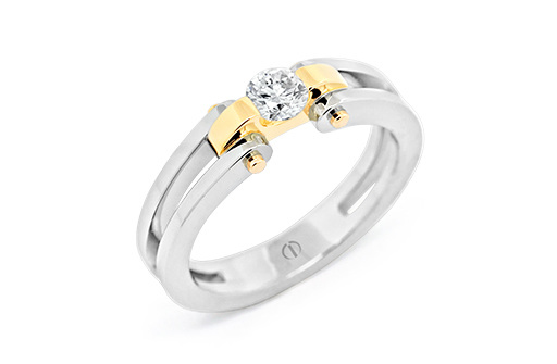 Circlipd Brilliant Delicate Diamond Ring
