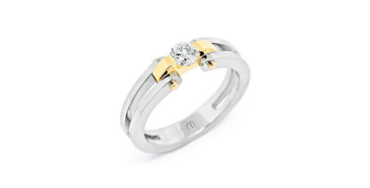 Circlipd Brilliant Delicate Diamond Ring