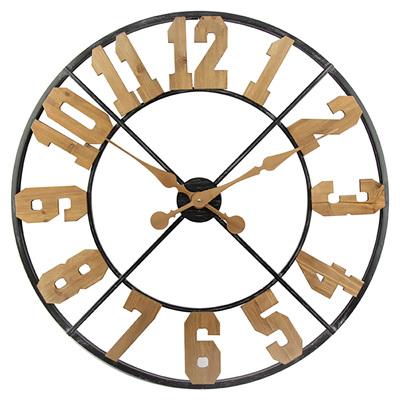 Circular Numbers Clock