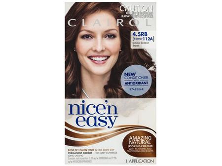 Clairol Nice 'N Easy 4.5RB Natural Redish Brown
