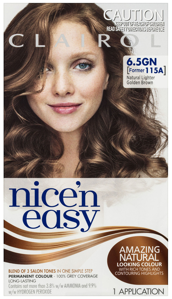 Clairol Nice 'N Easy 6.5GN Natural Lighter Golden Brown