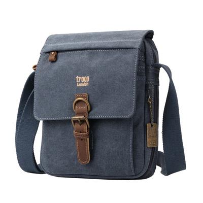 Classic Shoulder Bag - Blue
