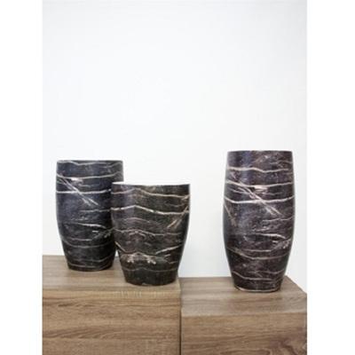 Classic Vase - Black Wood