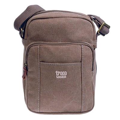 Classic Zip Top Body Bag - Brown