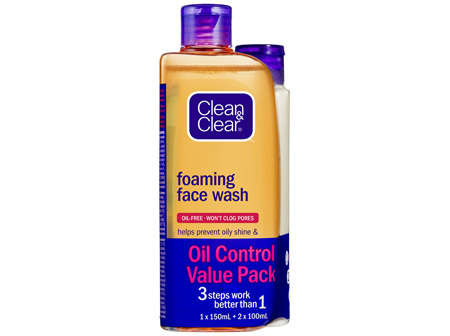 Clean & Clear Oil Control Value Pack