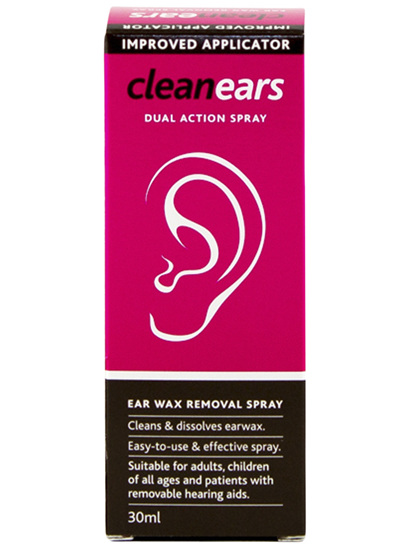 Cleanears Wax Removal Spray 30ml