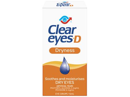 Clear Eyes-D 15mL
