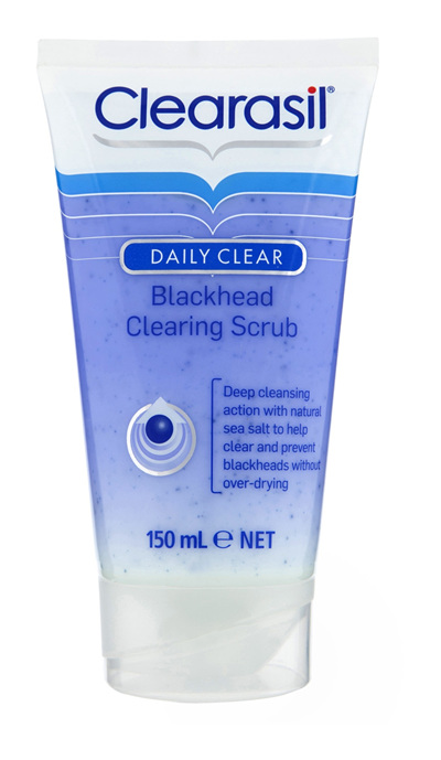 Clearasil Blackhead Clearing Face Scrub Pimple Cleanse Exfoliation 150ml