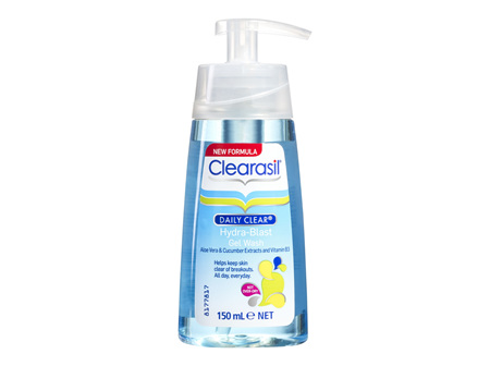 Clearasil Daily Clear Oil Free Gel Face Wash Pimple Cleanse 150ml