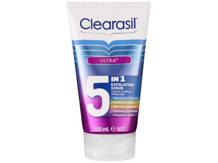 Clearasil Pimple Fighter 5 in 1 Scrub 150mL