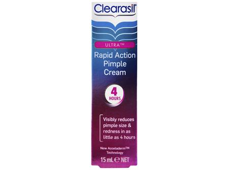 Clearasil Rapid Action Pimple Cream 15gm