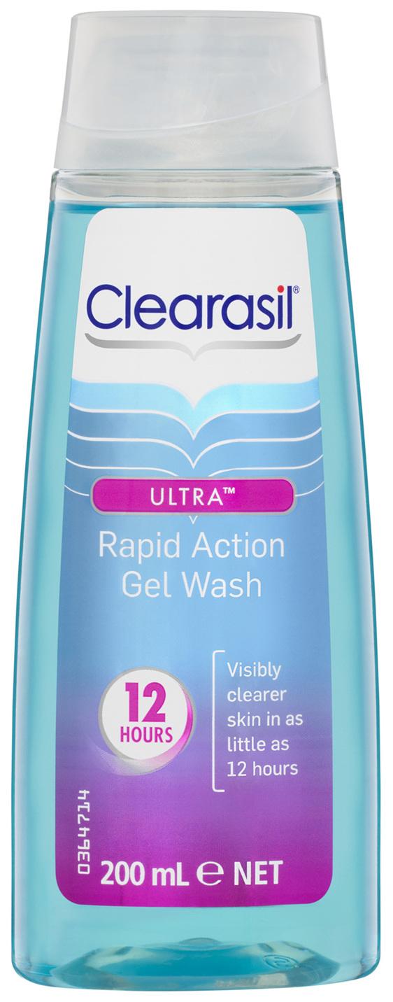 Clearasil Ultra Rapid Action Gel Wash 200mL